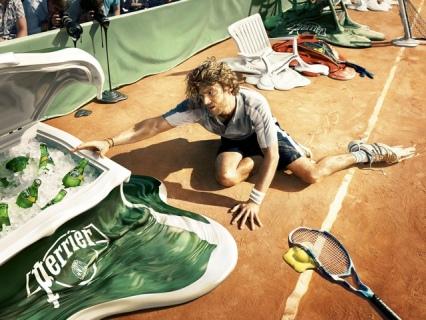 perrier tennis