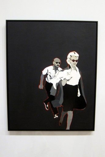 Marilyn Pursued by Death - Rosalyn Drexler (1963) © Courtesy the artist and Garth Greenan Gallery, New York. ARS, NY, 2015.