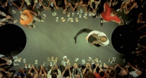 Gambling scene in the movie Wake in Fright by Ted Kotcheff, 1971