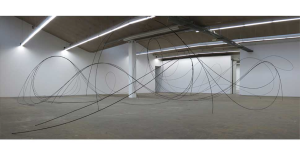 Robin Godde, D`un bout à l'autre, 2014, Ausstellungsansicht Kunsthaus Baselland. Foto de l'artiste