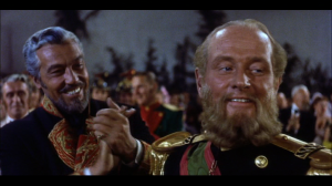 (Left to Right) Marquis Henri de Labordere and Emperor Maximilian: the European colonists.