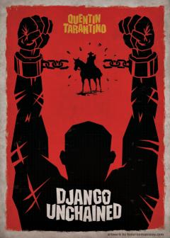 Django-Unchained-poster-by-Federico-Mancosu