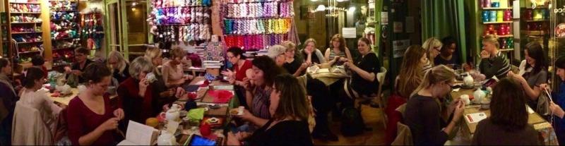 knit night l'oisivethé (photo facebook) 2