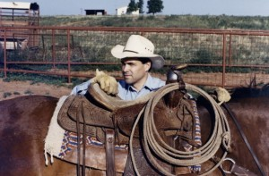Rick Perry in his ranch