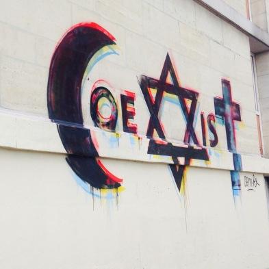 Fresque Coexist