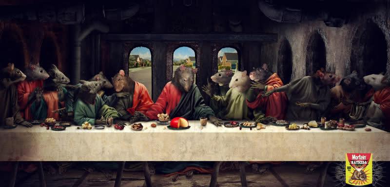 Ultima cena Veneno ratas