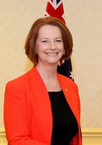 Julia Gillard, Australia Prime Minister from 2010 to 2013.