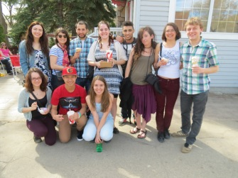 Canadian, exchange and international students.