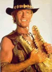 Classic Australian stereotype: Crocodile Dundee