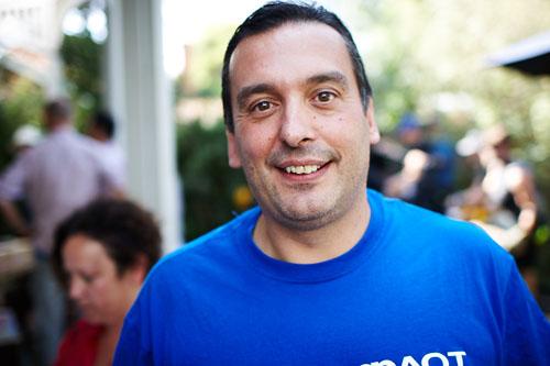 Christos Tsiolkas, author of The Slap ( 2008). ©Meanjin.com.au