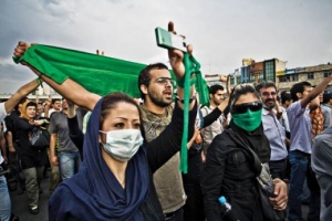 Iranians used social-networking sites to report on the suppression of street protests. June 2009, Stephen Cass