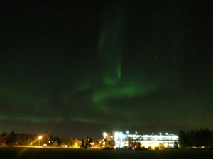 Northern Lights over Saskatoon, October 2014
