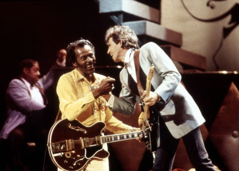 Chuck Berry : hail hail hail ! Rock'n'roll